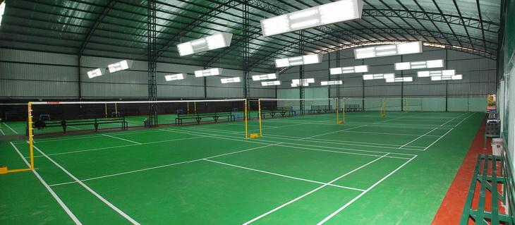 Làm sân cầu lông - Asian Sport