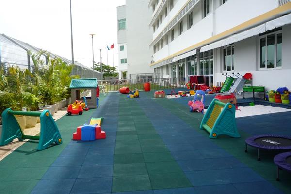Tư vấn thiết kế thi công sân chơi trẻ em