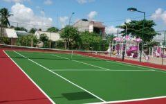Sơn sân tennis đạt chuẩn