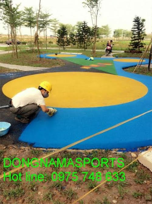 Asian Sports chuyên thiết kế Thi Công Sân Chơi Trẻ Em