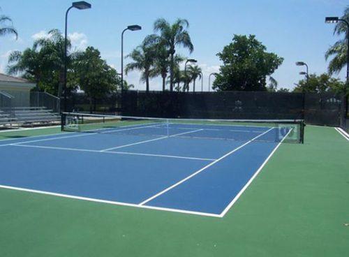 Xây dựng sân Tennis