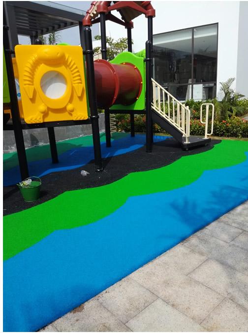 Thi công sân chơi cho trẻ em tại Quảng Ninh