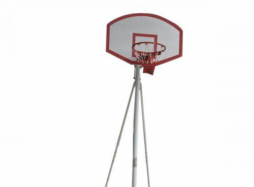 Trụ bóng rổ cố định trường tiểu học