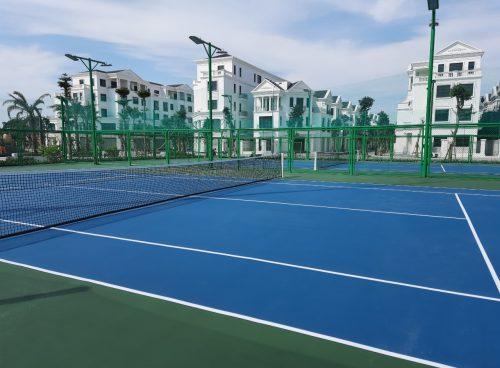 sửa chữa sân tennis tại Hà Nội